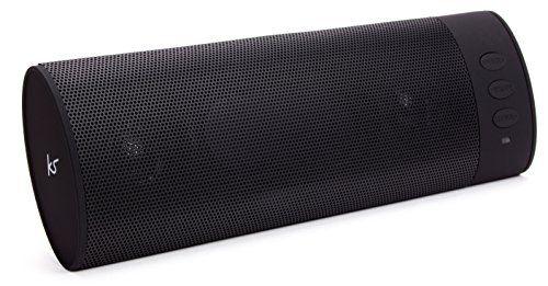 photo Wallpaper of KitSound-KitSound BoomBar Universal Tragbares Aufladbares Stereo Bluetooth Wireless Soundsystem Kompatibel Mit Apple IOS-Schwarz
