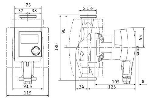 photo Wallpaper of Wilo-Wilo 4132454 Hocheffizienzpumpe Stratos Pico  Elektronisch Kommutierter Motor 30/1 4-