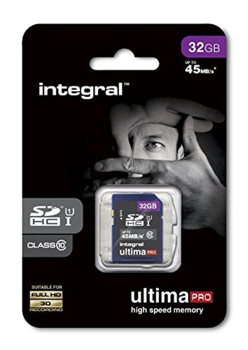 photo Wallpaper of Integral-Integral SDHC Speicherkarte (Class 10) 32 GB-