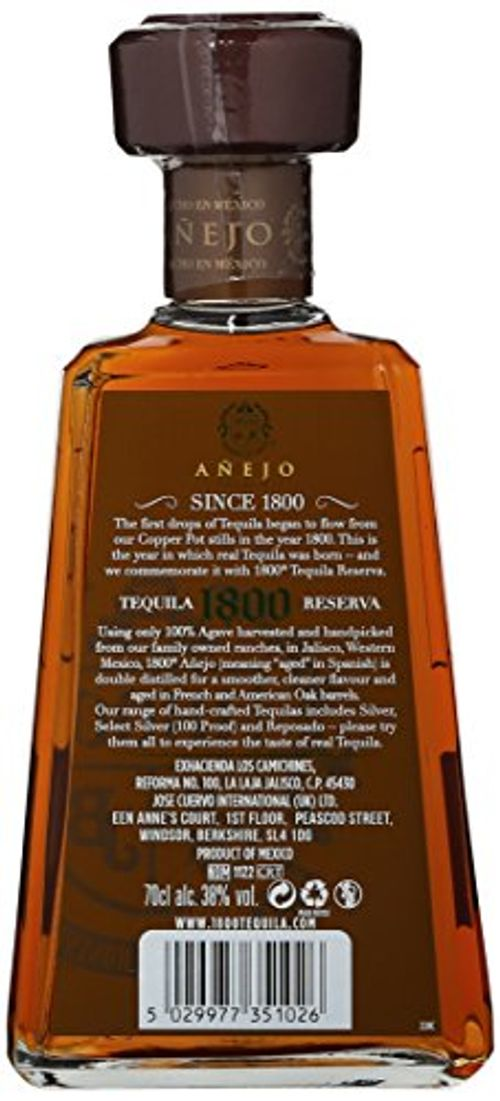 photo Wallpaper of Jose Cuervo-Jose Cuervo 1800 Tequila Añejo (1 X 0.7 L)-