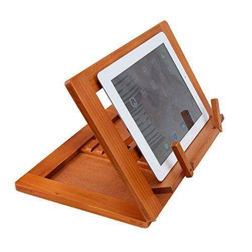 photo Wallpaper of HALOViE-Halovie Soporte Para Libro Tablet IPads Book Holder Atril De Lectura Ajustable Y-34x23.5x2.8cm
