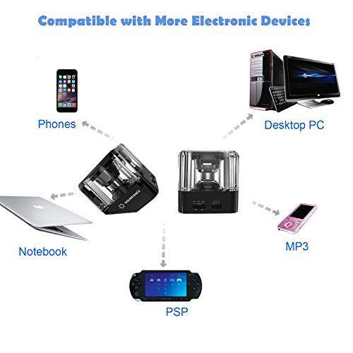 photo Wallpaper of Soundance-Soundance® Bluetooth Lautsprecher Mit Bluetooth 4.1 TWS (Echte Drahtlose Stereo),EDR (Erhöhte-schwarz