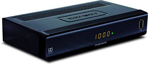 photo Wallpaper of Thomson-THOMSON THC300 HD Kabelreceiver Für Digitales Kabelfernsehen DVB C Mit Teletext (USB,-schwarz