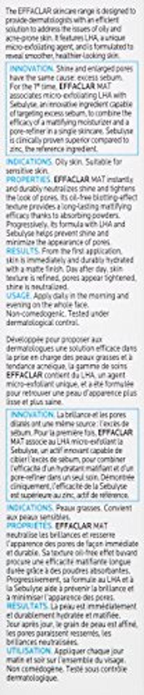 photo Wallpaper of La Roche-Posay-Roche Posay Effaclar Hidrat Matif Acti40-
