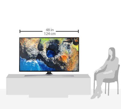 photo Wallpaper of Samsung-Samsung MU6179 138 Cm (55 Zoll) Fernseher (Ultra HD, HDR, Triple Tuner, Smart TV)-Schwarz