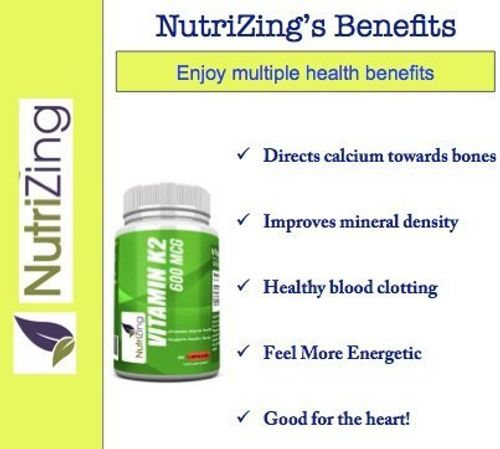 photo Wallpaper of NutriZing-★ Mejor Suplemento De Vitamina K2 ~ Alta Resistencia 600 Mcg ~-