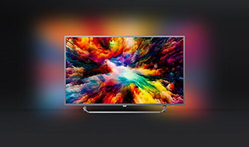 photo Wallpaper of Philips-Philips 43PUS7303/12 108 Cm (43 Zoll) LED Fernseher (Ambilight, 4K Ultra HD, Triple-Silber