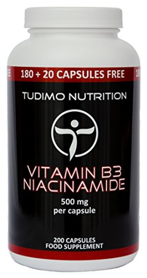 photo Wallpaper of TUDIMO-★ Vitamina B3 ★ 500 Mg De Nicotinamida – 200 Pzas (6+-