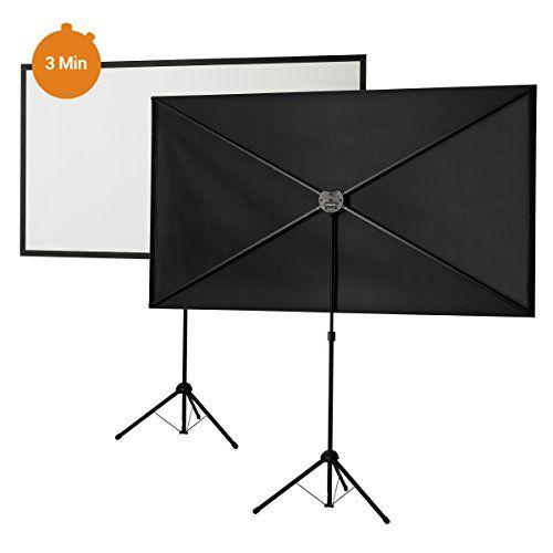 photo Wallpaper of Celexon-Celexon Stativleinwand Ultra Lightweight 163x122cm Format 4:3 | 5KG Transportgewicht | 120cm-