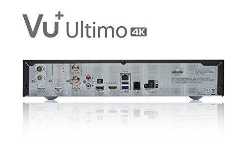 photo Wallpaper of VU+-VU+ Ultimo 4K 1x DVB S2 FBC Twin / 1x DVB-