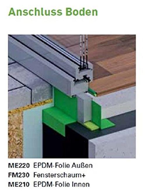photo Wallpaper of Online-Fenster-Kaufen illbruck-Illbruck ME220 EPDM Folie 200x1,2 Mm, 1 Selbstklebestreifen, 1 Meter Im Zuschnitt,-