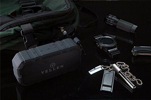 photo Wallpaper of VELLEN-VELLEN Ultralight Wasserdicht Bluetooth Lautsprecher 4.0 10W IP5   Gute Portable Outdoor Soundbox-Schwarz