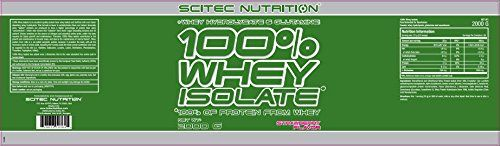 photo Wallpaper of Scitec Nutrition-Whey Isolate 2000 G Erdbeere AF-Fresa