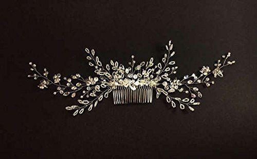 photo Wallpaper of Handmadejewelrylady-Horquillas Para Cabello Con Diamantes De Imitación, Estilo Clásico, Para Bodas, De Handmadejewelrylady-