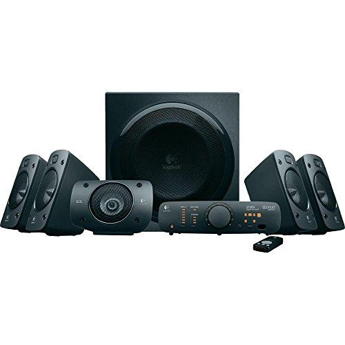 photo Wallpaper of Logitech-Logitech Z906 3D Stereo Lautsprecher THX (Dolby 5.1 Surround Sound Und 500 Watt) Schwarz-Schwarz