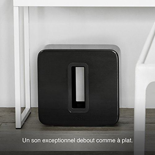 photo Wallpaper of Sonos-Sonos SUB WLAN Subwoofer Für Sonos Speaker (Schwarz)-schwarz