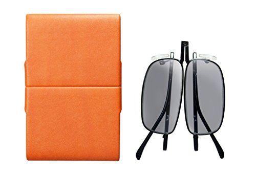 photo Wallpaper of eye-spec-Stylische Faltbare Sonnen Lesebrille Und Faltbare Sonnenbrille Mit Gläsern Von Hoher Qualität, Mit-Orange