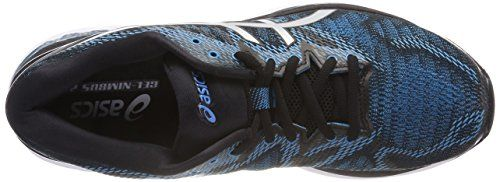 photo Wallpaper of Asics-Asics Herren Gel Nimbus 20 Laufschuhe, Blau (Island Blue/White/Black 4101), 44 EU-Blau (Island Blue/White/Black 4101)
