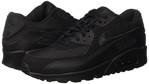photo Wallpaper of Nike-Nike Air Max 90 537384, Herren Sneakers Training, Schwarz (Black/Black/Black/Black), 44 EU-Schwarz (Black/Black/Black/Black)