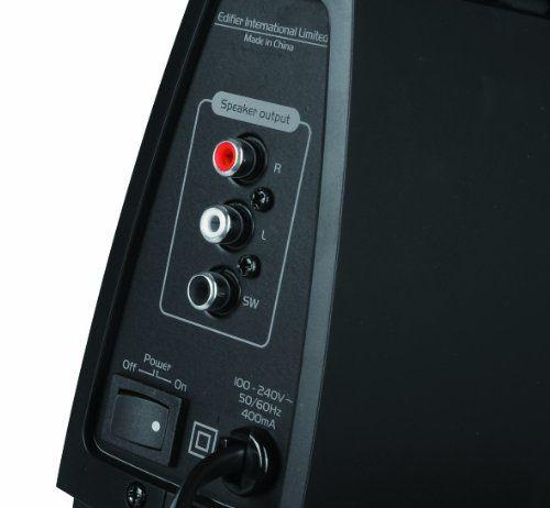 photo Wallpaper of Edifier-EDIFIER C2X 2.1 Lautsprechersystem (53 Watt) Mit Infrarot Fernbedienung-High-Gloss Piano Black