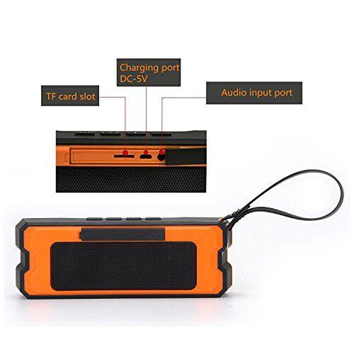 photo Wallpaper of TTPLANET-TTPLANET Bluetooth Lautsprecher Tragbare Wiederaufladbare Mini Stereo Funklautsprecher 3D Surround Kompatibel Mit-