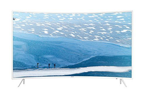 photo Wallpaper of Samsung-Samsung KU6519 138 Cm (55 Zoll) Curved Fernseher (Ultra HD, Triple Tuner, Smart-weiß