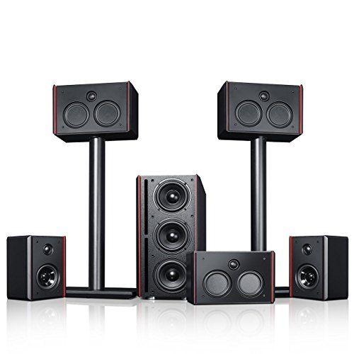 photo Wallpaper of Teufel-Teufel System 4 THX   5.1 Lautsprecher Set Mit THX Compact Speaker System-Schwarz