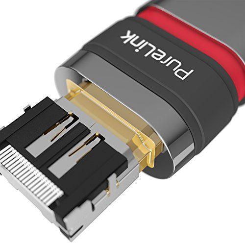 photo Wallpaper of PureLink-PureLink ULS1005 100 Zertifiziertes Aktives High Speed HDMI Kabel Ethernet Halogenfrei Mit Sicherheitsverschluss (HDMI-schwarz halogenfrei