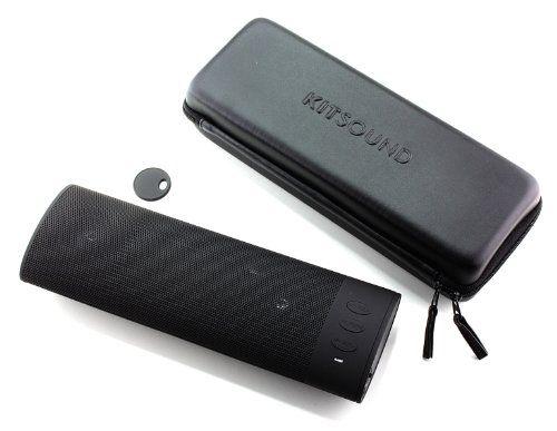 photo Wallpaper of KitSound-KitSound BoomBar Universal Tragbares Aufladbares Stereo Bluetooth Wireless Soundsystem Kompatibel Mit Apple IOS Und-Schwarz