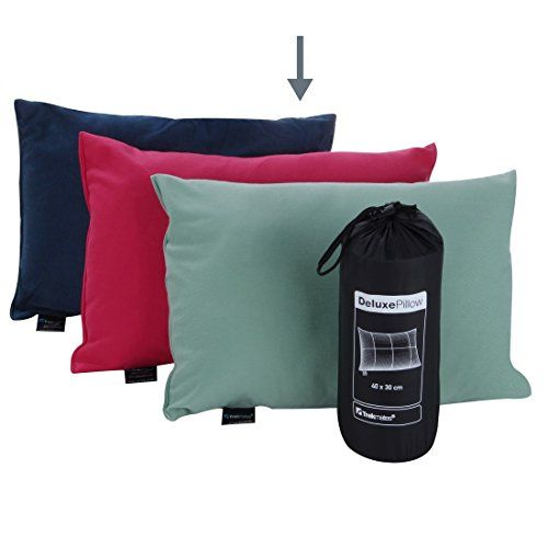 photo Wallpaper of Trekmates-Trekmates Deluxe Pillow 40x30 Reisekissen Campingkissen Kopfkissen Schlaf Kissen-blau