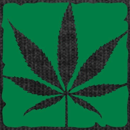 photo Wallpaper of Spreadshirt-Cannabis Blatt Wintermütze Von Spreadshirt®-Asphalt