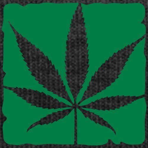 photo Wallpaper of Spreadshirt-Cannabis Blatt Wintermütze Von Spreadshirt®-Asphalt