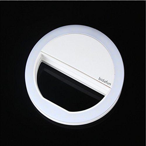 photo Wallpaper of bidafun-Bidafun LED Strahler Flash Selfie Licht Ring Kamera Foto Video Licht-Weiß