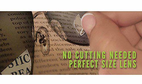 photo Wallpaper of Zcifi-Lentes Adhesivas De Lectura Para Gafas De Sol / Lentes De Lectura Bifocales-Transparente