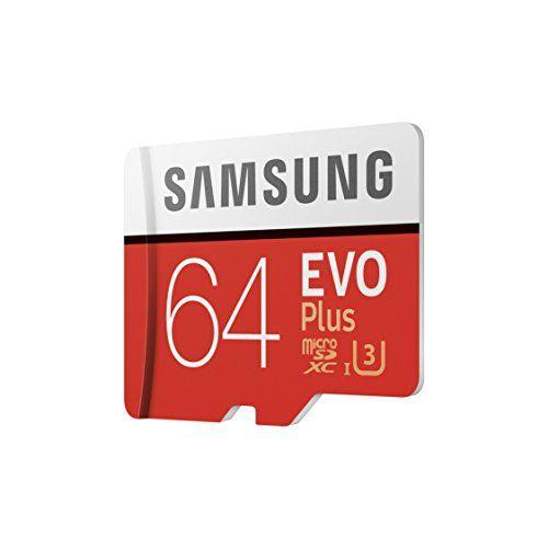 photo Wallpaper of Samsung-Samsung EVO Plus Micro SDXC 64GB  Bis Zu 100MB/s Class 10-Rot/Weiß