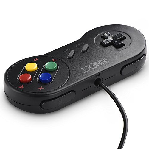 photo Wallpaper of iNNEXT-INNEXT 2 X SNES USB Controller PC Gamepad Joypad SNES-multi-colored