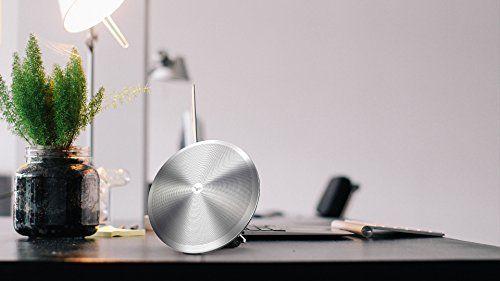 photo Wallpaper of Dardani-Dardani ILLIRO   Bluetooth Lautsprecher | Designed In Germany (Edelstahl, Silber, 10 Stunden-
