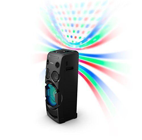 photo Wallpaper of Sony-Sony MHC V50D All In One High Power Audio System Mit Partylichteffekten Und Sound-Schwarz
