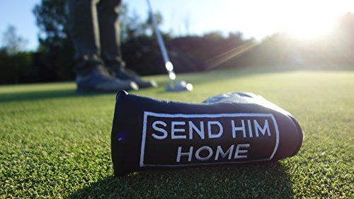 photo Wallpaper of Punchline Golf-Punchline Golf Putterhaube Send HIM Home Hochwertiges Putter Headcover Zum Schutz-SEND HIM HOME