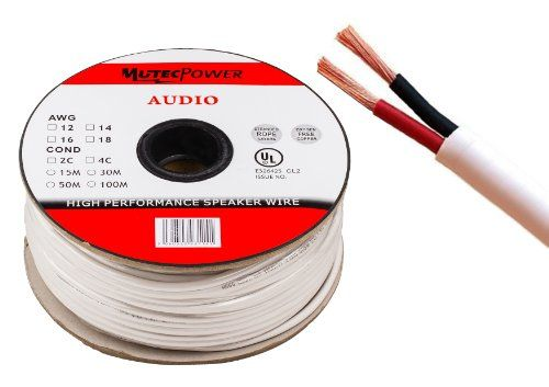 photo Wallpaper of Mutec Power-Mutec Cable   Lautsprecherkabel 2 X 1.5mm² (16AWG) 50M Ring CL2 Rated-