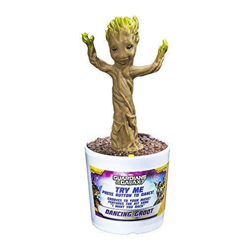 photo Wallpaper of Guardians of the Galaxy-Guardians Of The Galaxy Dancing Baby Groot Interaktive Figur Mit Sound-Standard