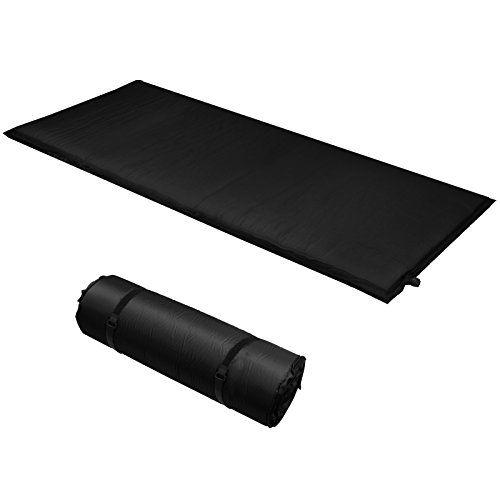 photo Wallpaper of ALPIDEX-ALPIDEX Isomatte Selfinflating Matte Selbstaufblasende Outdoor Thermomatte In Verschiedene Größen Und Farben, Farbe:black, Maße:200-black
