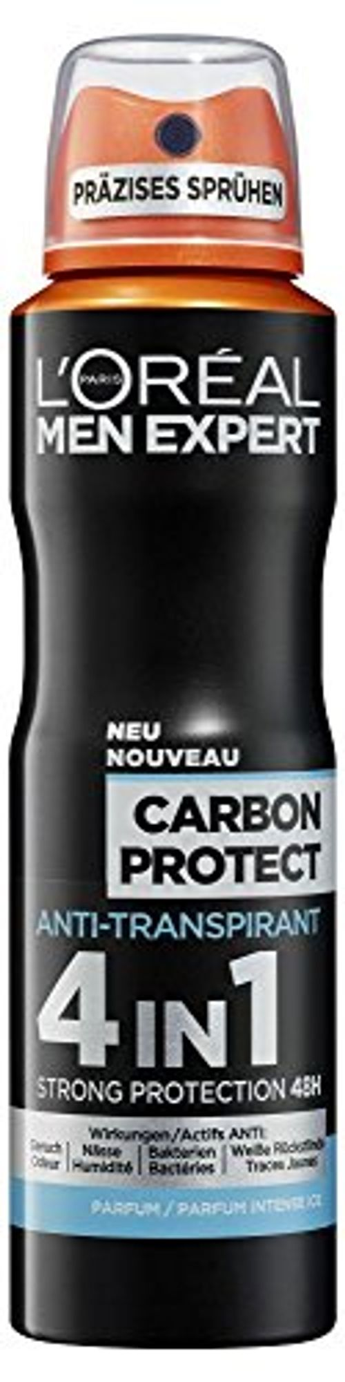 photo Wallpaper of L'Oreal Paris-6x Men Expert Carbon Aerosol Protect 4 En 1-Carbon Protect 4 in 1
