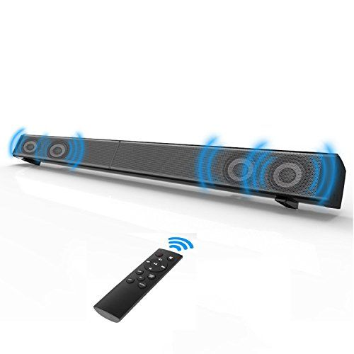 photo Wallpaper of Beneray-Soundbar, Beneray Heimkino Bluetooth 4.0 Lautsprecher, 2.0 Kanal, 40W Mit-Schwarz
