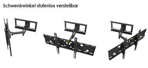 photo Wallpaper of RICOO-RICOO Wandhalterung TV Schwenkbar Neigbar R05 Universal LCD Wandhalter Ausziehbar Fernseher Halterung-schwarz