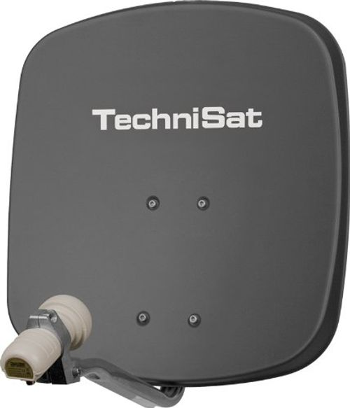 photo Wallpaper of TechniSat-TechniSat DIGIDISH 45   Satelliten Schüssel, 45 Cm Spiegel Mit Wandhalterung-grau
