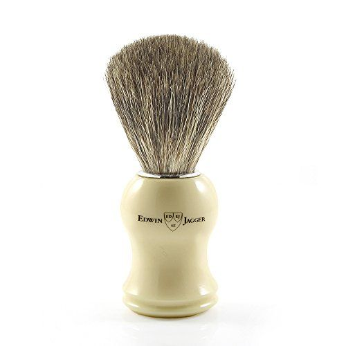 photo Wallpaper of Edwin Jagger-Edwin Jagger Pure Badger   Brocha De Afeitar, Color Blanco-Blanco