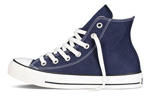 photo Wallpaper of Converse-Converse Chuck Taylor All Star, Unisex Erwachsene Hohe Sneakers, Blau-Blau (Navy Blue)
