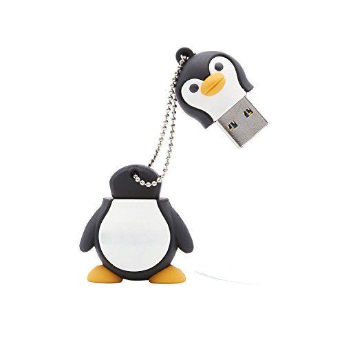 photo Wallpaper of Simtyso-Simtyso Niedlich Pinguin USB Stick 16GB Speicherstick 2.0 Mit Schlüsselanhänger Für Kinder Geschenk-Der Pinguin