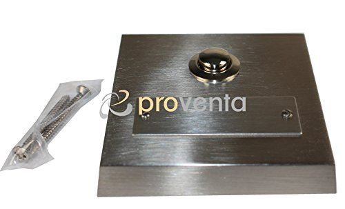photo Wallpaper of Proventa-Proventa | Klingeltaster In Echtmetall | Klingelplatte In Edelstahl Optik | Inklusive-